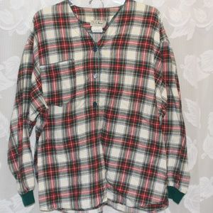 LL Bean Flannel Pajamas with Shorts